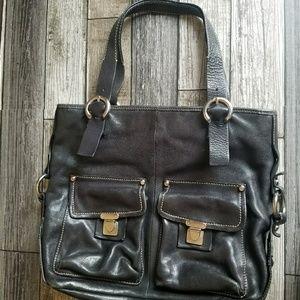 FRANCESCO BIASIA leather tote